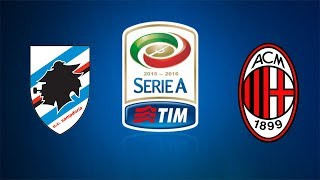 sampdoria milan live streaming