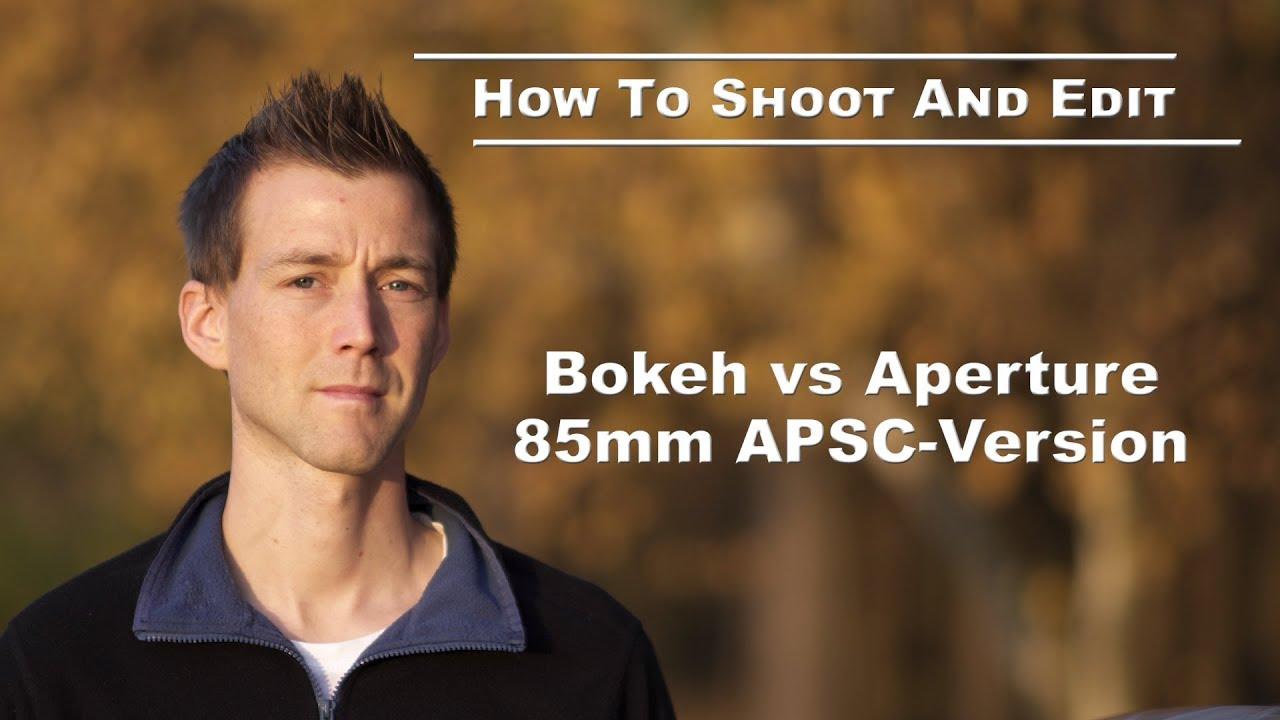 85mm lens -  bokeh test 1.4 1.8 2.8 etc.
