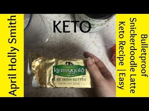 Bulletproof Snickerdoodle Latte   Keto Recipe   April Holly Smith