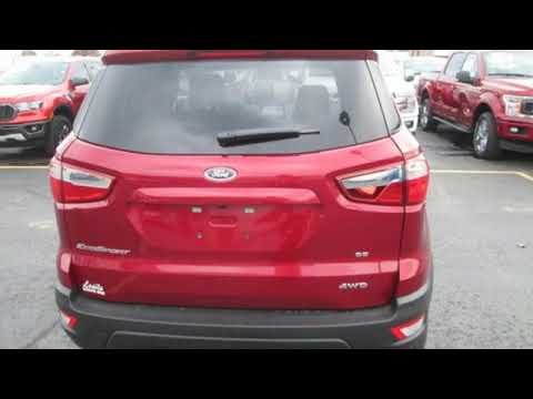 2020 Ford EcoSport Springdale Fayetteville, AR #LC321867