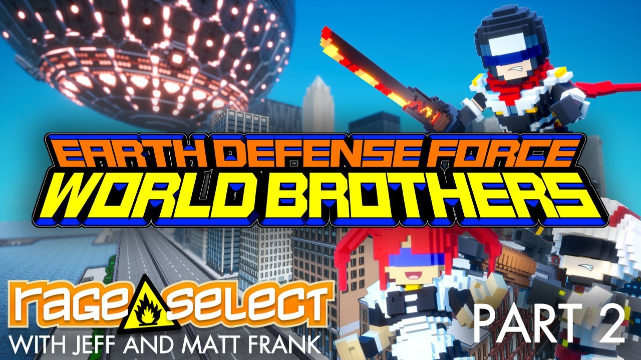 Earth Defense Force: World Brothers (The Dojo) Let's Play - Part 2