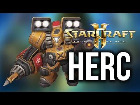 HERC Spotlight! (StarCraft 2: Legacy of the Void Pre-Alpha)