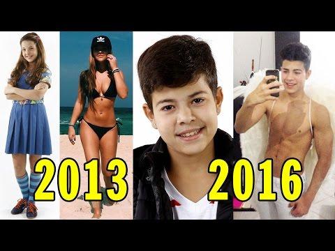 Chiquititas Antes e Depois (2013 - 2016)