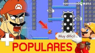 Download PENSABA QUE LLEGABA Y EL ZAPATITO NO PINCHABA - Los más Populares (Muy Difícil) #14 | SMM2 - ZetaSSJ