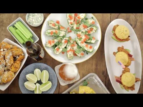 Healthy Super Bowl Party Apps | Cooking Light