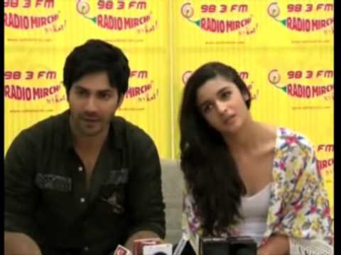 Bollywood actors promote their upcoming romantic comedy ...