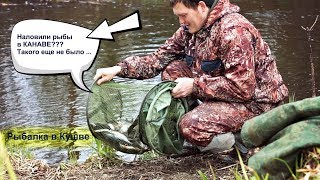 Рыбалка в Кушве - На Мах в КАНАВЕ ! ДА НУ НАХ....