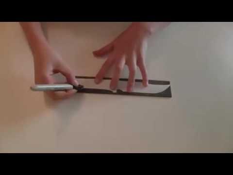 How to make a Tactical Steel Knife! #BadassKnife