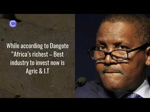 Agro Export. Why Africa richest invest in Commodities?