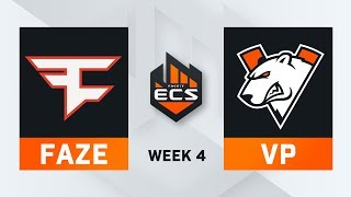 FaZe vs Virtus Pro Map 1 Nuke ECS Season 7 Week 4 DAY1