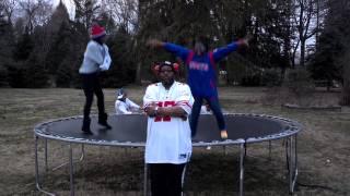 New York GIANT FANS Doing the Harlem Shake