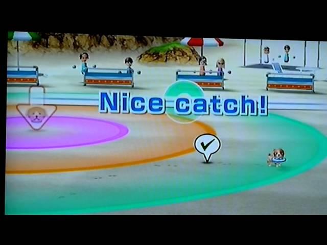 Frisbee Dog & Balloon - Wii Sports Resort