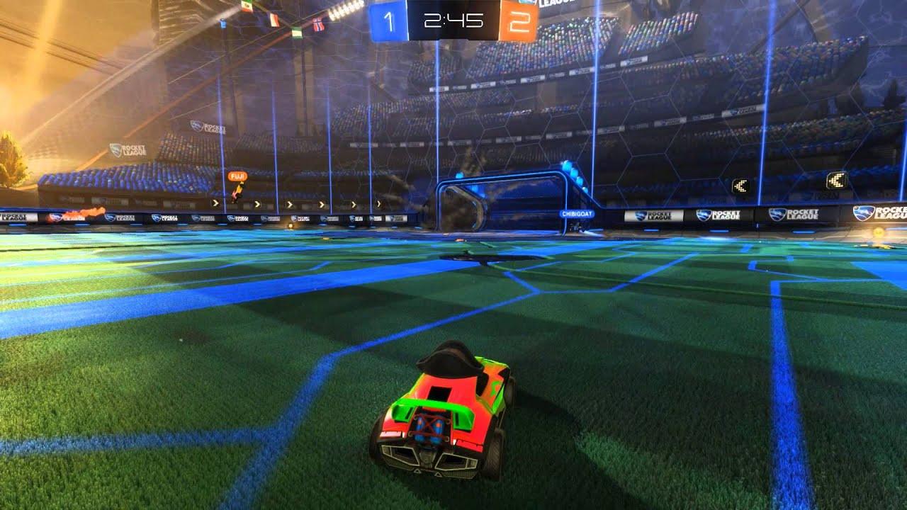 Cool Rocket League Goal