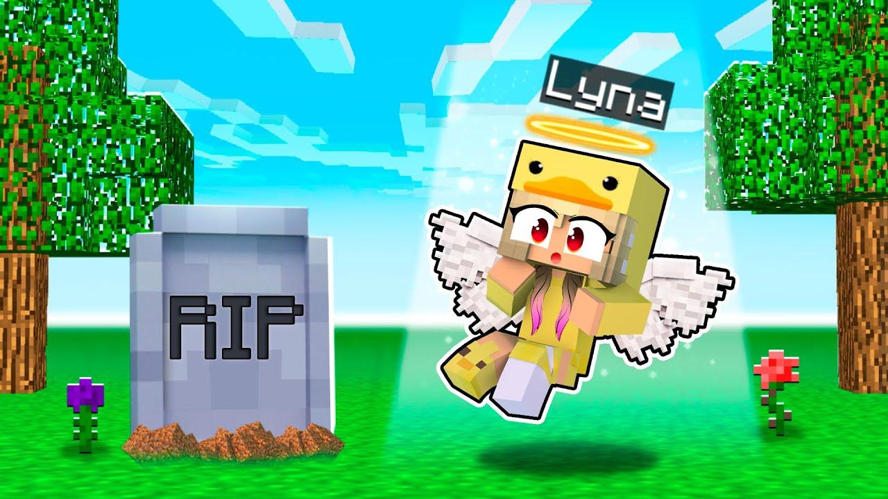 Download LYNA MUERE Y RESUCITA COMO BEBÉ EN MINECRAFT!