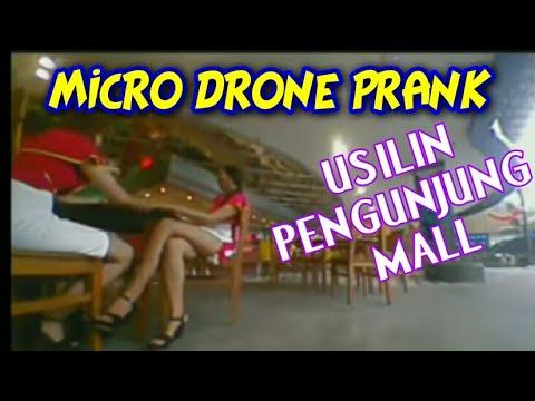 MICRO DRONE PRANK DI BALIK RACE KE3 PAHA MULUS