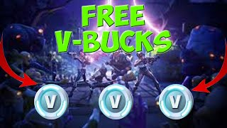 How to earn Free V-BUCKS on FORTNITE