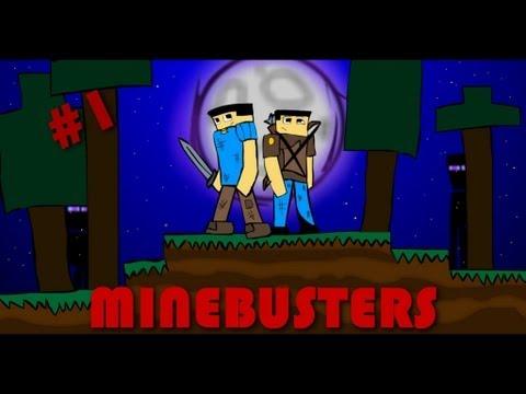 Minebusters 1 Серия Люди в чёрном