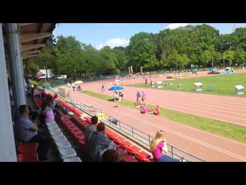 200m, III seria, X WOM, Wrocław 14.05.2017