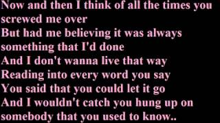 Gotye - Somebody That I Used To Know  Lyrics.mp3