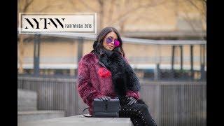 #NYFW Winter Looks 2018