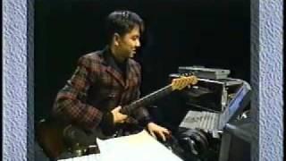 高野寛の宅録講座 土曜ソリトンSide-B (NHK ETV 1994〜1995)より.