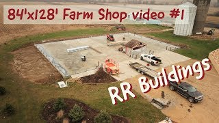 Farm Shop build series video 1