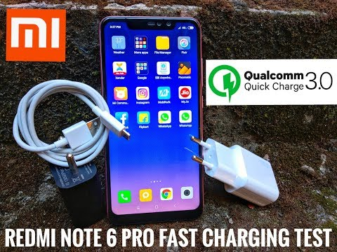 finest selection b2a4f 123d7 Redmi Note 6 Pro Fast Charging Test | Quick Charging Support Test| Hindi