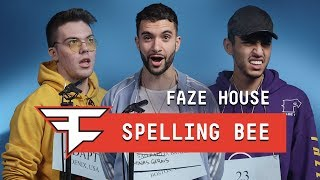 The FaZe House Spelling Bee
