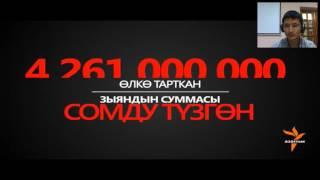 """Видеозапись вебинара """"Особенности журналистского расследования для ТВ и онлайн"""" на кыргызском языке"""