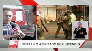 Locatarios sospechan intencionalidad en incendio del Mercado de Concepción