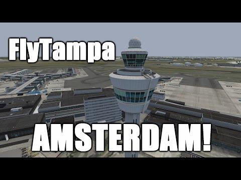 Review: NEW FlyTampa's Amsterdam Airport Schiphol! [Prepar3D V3] [2017]