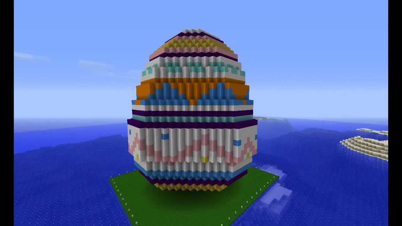 Easter Special: Giant Easter Egg - Minecraft - YouTube