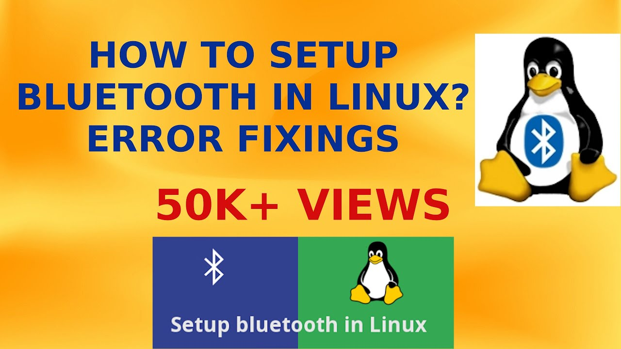 How to setup Bluetooth in Linux? || Bluetooth not working in Linux