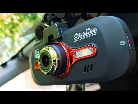 Обзор отличного авто-видеорегистратора AdvoCam Red II
