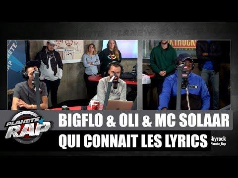 Youtube: Bigflo & Oli & MC Solaar – Qui connaît les lyrics #PlanèteRap