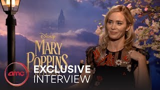 MARY POPPINS RETURNS Interviews (Emily Blunt, Lin-Manuel Miranda)   AMC Theatres (2018)