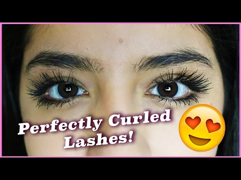 How to keep your eyelashes curled all day   Julissa Chapa ...