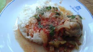 Чахохбили из курицы очень вкусное и быстрое блюдо