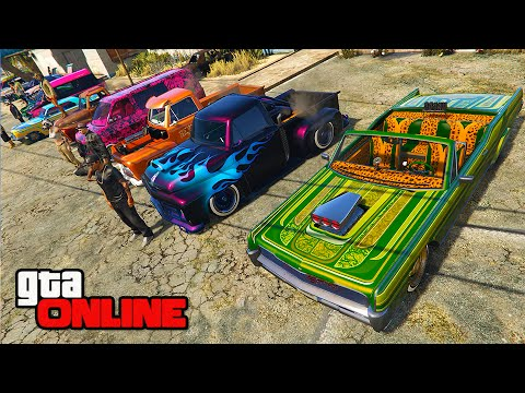 MEXICAN CAR SHOW/CONTEST! || GTA 5 Online || PC