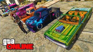 MEXICAN CAR SHOW/CONTEST! || GTA 5 Online || PC