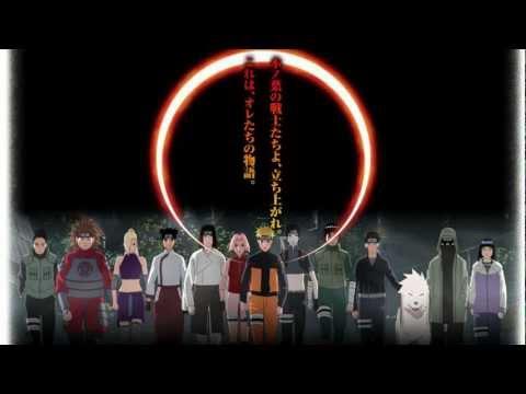 Naruto Shippuuden movie 3 OST Full Ending Theme HD + Live-Lyrics