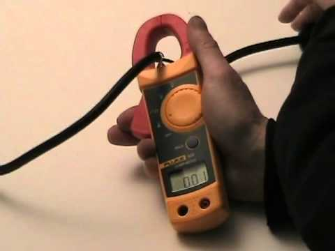 How-To use a clamp-on ammeter