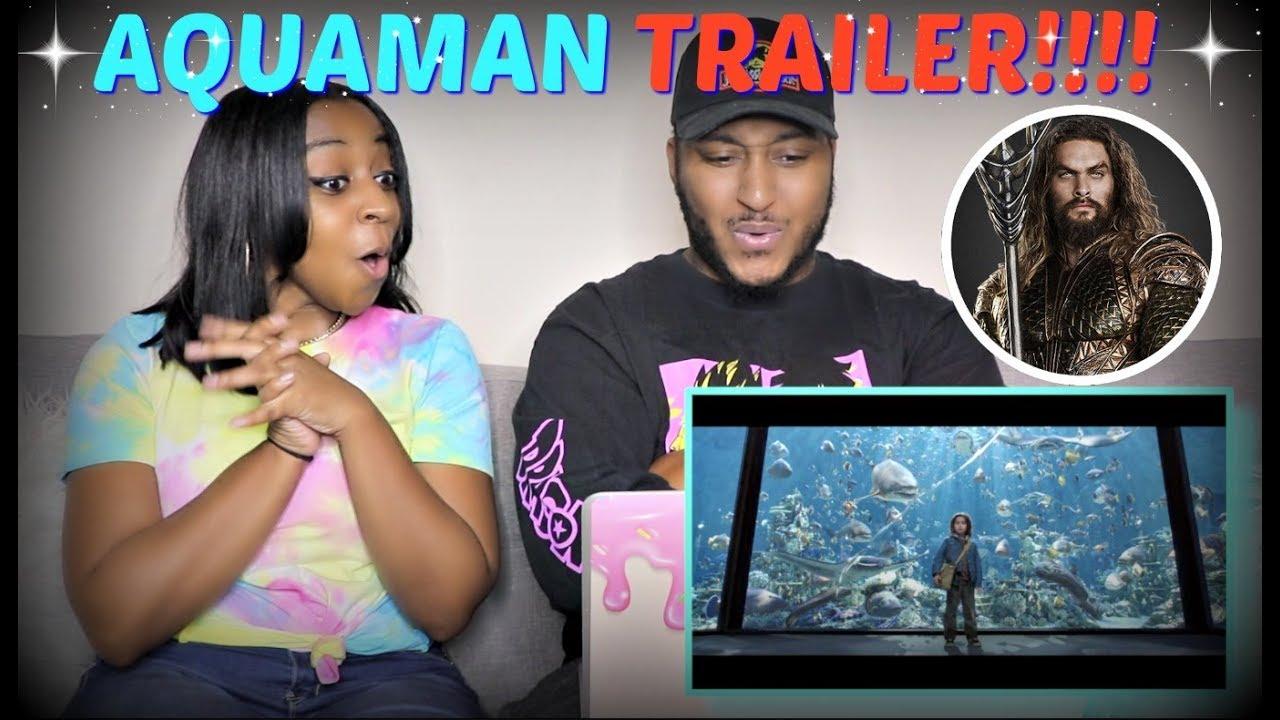 """Aquaman"" - Official Trailer REACTION!!!"