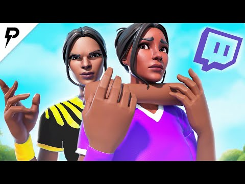 Killing FAMOUS Twitch Streamers! (with Reactions)  - Fortnite Battle Royale