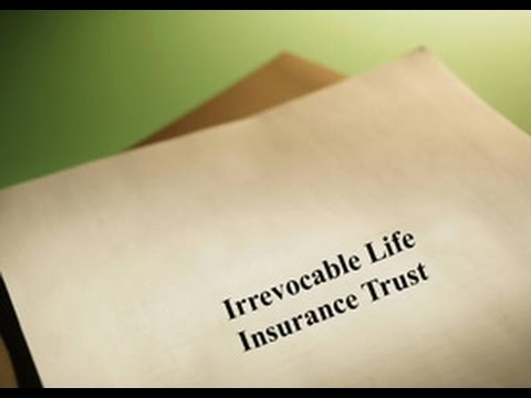 Irrevocable Life Insurance Trust (ILIT) -- 60 Second Business Tip
