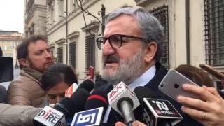 Emiliano: «I soldi previsti dai patti per il sud non sono disponibili»