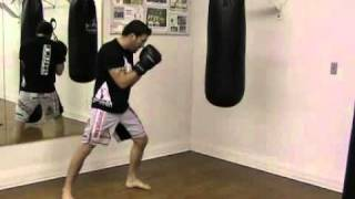 Punching the Heavy Bag – Boxing Basics – The Jab
