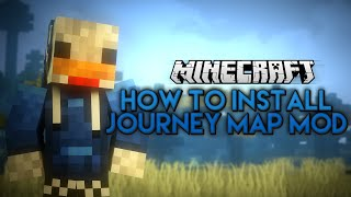 Minecraft - How to install the JOURNEY MAP MOD 1.9  (2016) - Working [Tutorial]