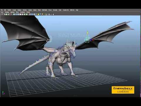 dragon rigging showreel