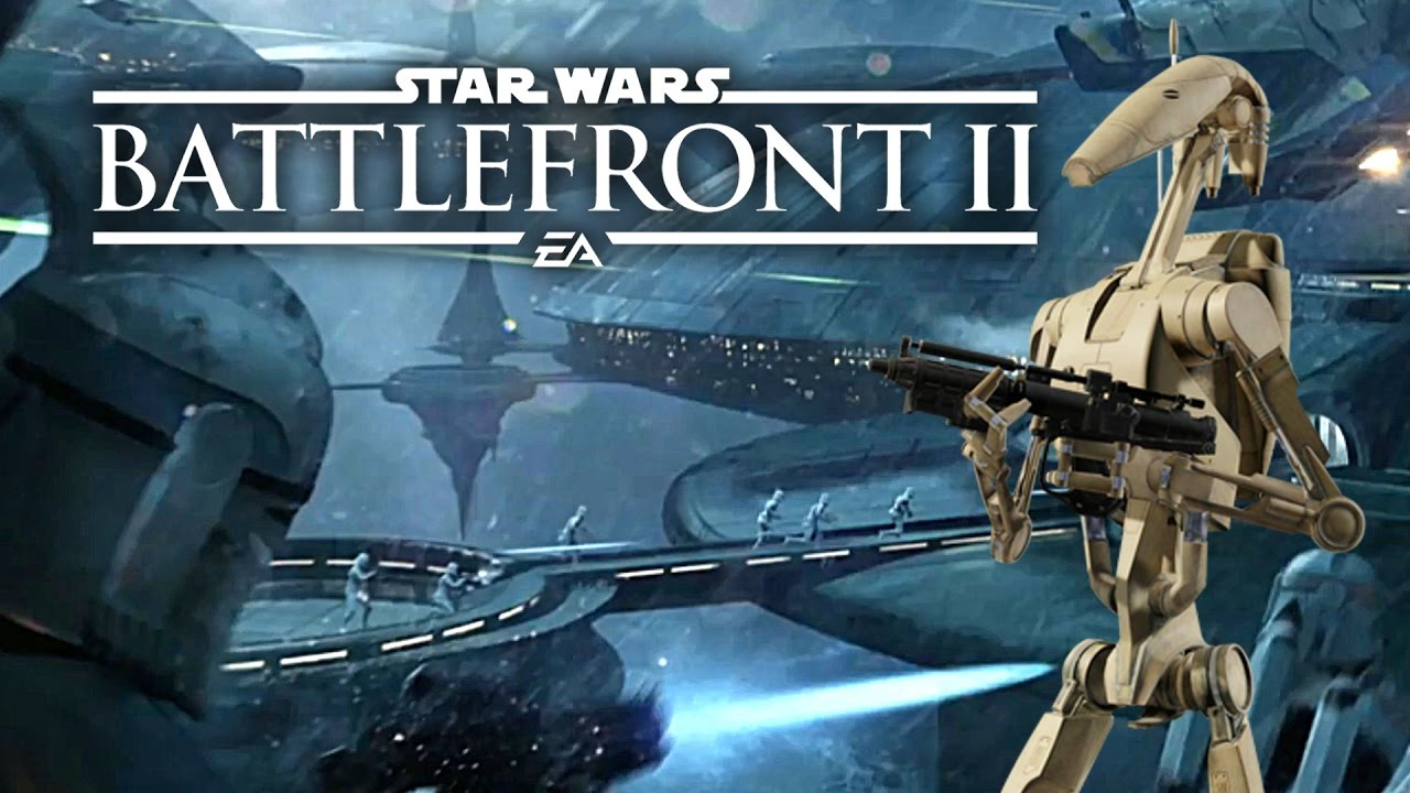 Star Wars Battlefront 2 HUGE News Classes Revealed Playable Droids Kamino Map Heroes And More